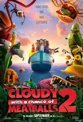 Cloudy with a chance of meatballs2
