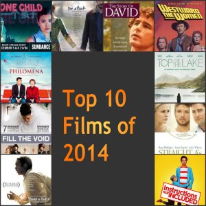 Top 10 films of 2014