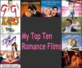 My Top Ten Romance films